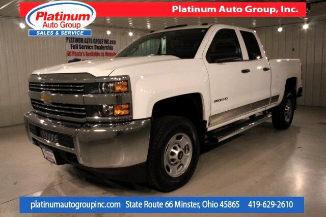 2015 Chevrolet Silverado 2500HD Work Truck 4D Double Cab
