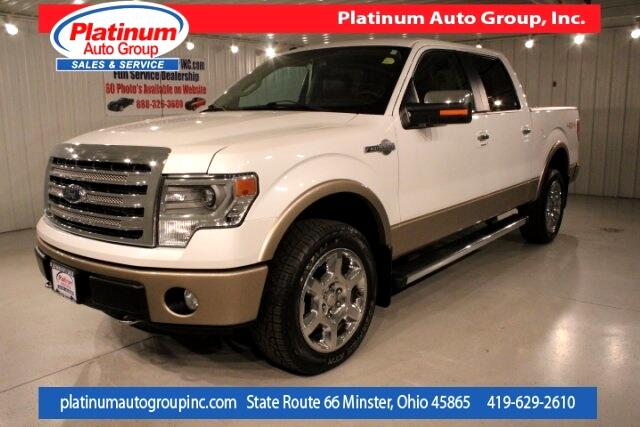 2014 Ford F-150 King Ranch 4D SuperCrew