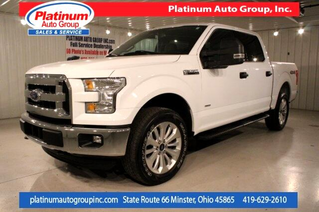 2015 Ford F-150 XLT 4D SuperCrew