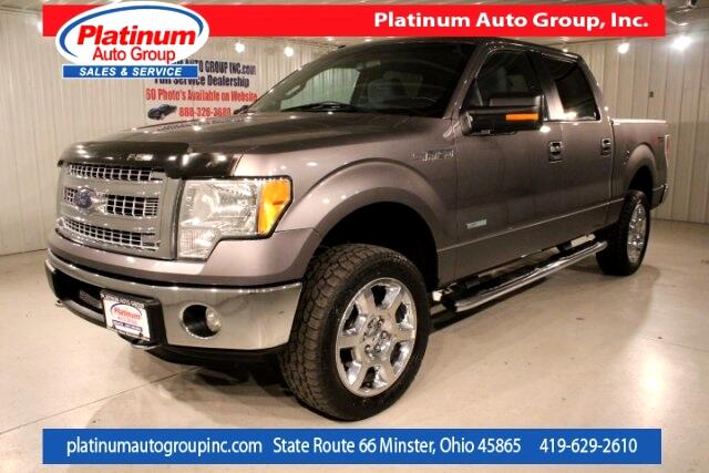 2013 Ford F-150 XLT 4D SuperCrew