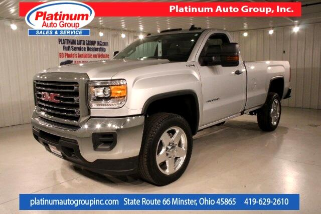 2016 GMC Sierra 3500HD Base Regular Cab 8' Bed