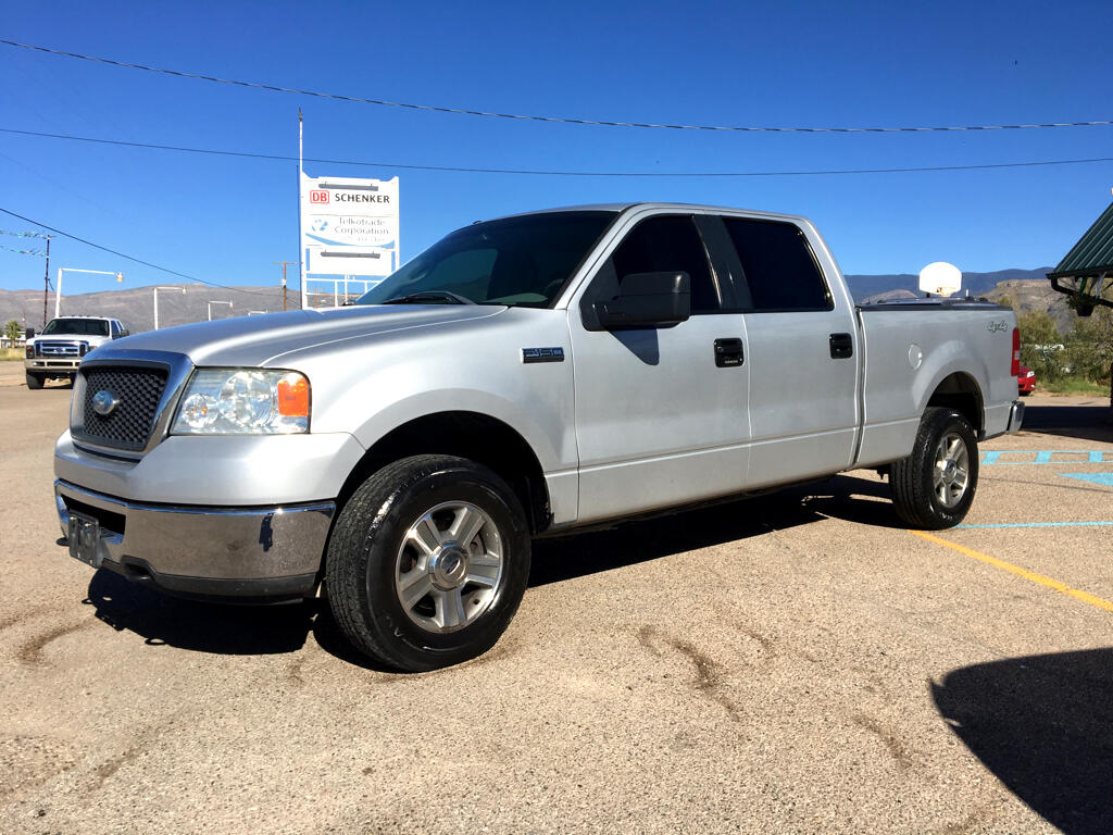 "2008 Ford F-150 4WD SuperCrew 145"" FX4"