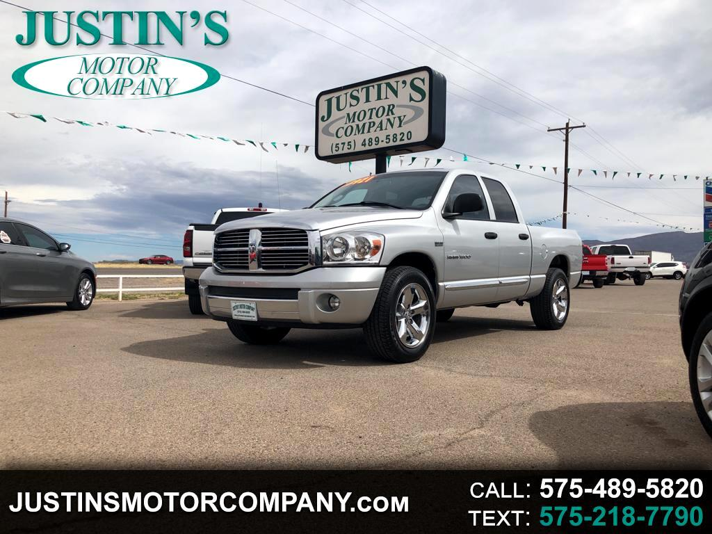 2007 Dodge Ram 1500 Laramie Quad Cab Short Bed 2WD