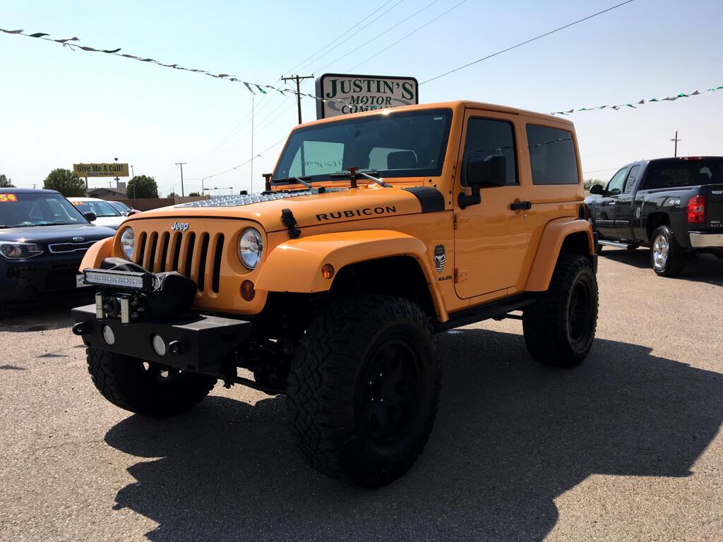 2012 Jeep Wrangler 4WD 2dr Rubicon