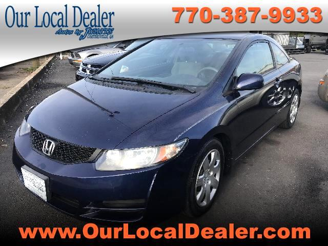 2010 Honda Civic LX Coupe 5-Speed AT