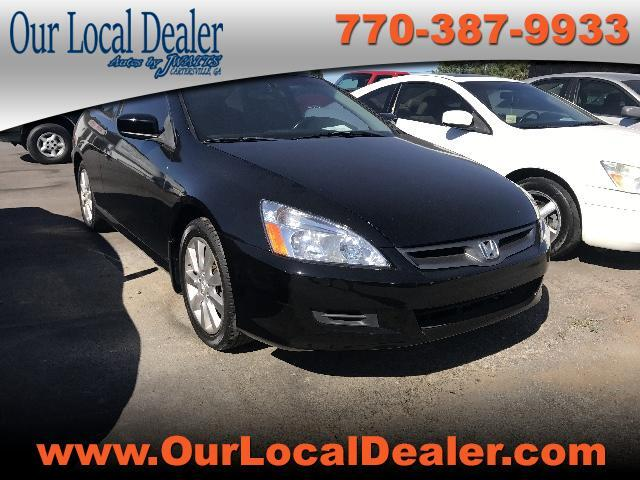 2006 Honda Accord EX-L V-6 Coupe AT
