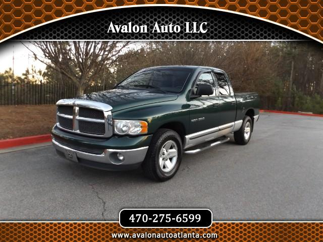 2002 Dodge Ram 1500 SLT Quad Cab Short Bed 2WD