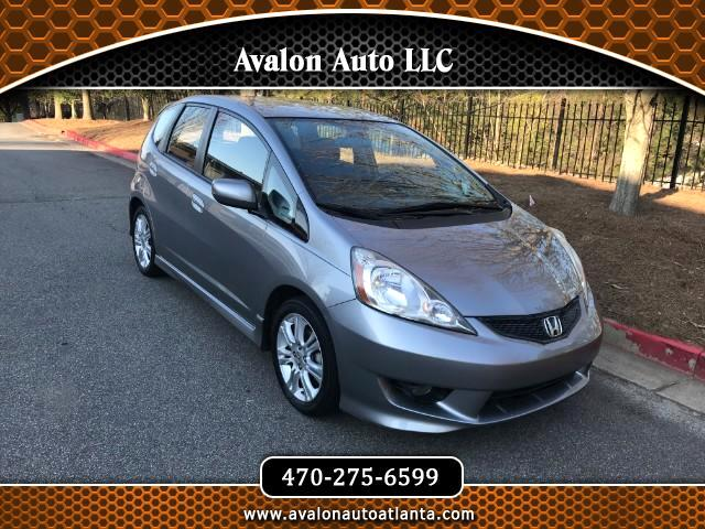 2009 Honda Fit Sport 5-Speed AT
