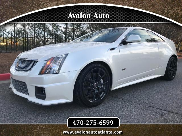 2011 Cadillac CTS-V Coupe 2dr Cpe