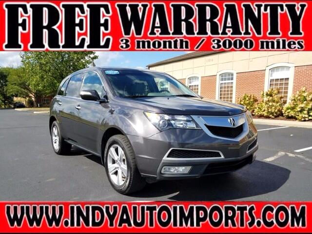 2012 Acura MDX 6 Spd AT w/Tech Package ***REBUILT TITLE***APPOINT