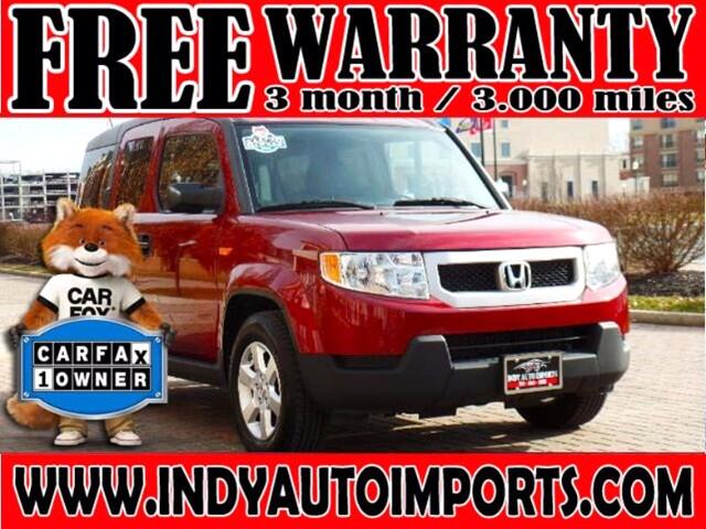2011 Honda Element EX 4WD AT with Navigation System