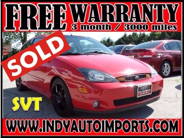 2002 Ford Focus 3dr Cpe SVT ***SOLD***