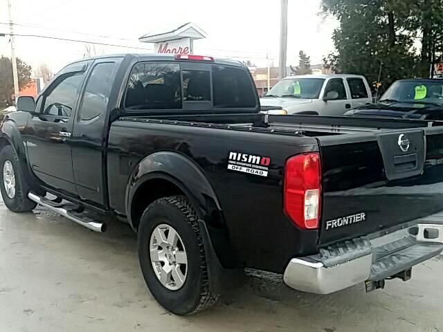 used 2006 nissan frontier nismo king cab 4wd for sale in saint albans vt 05478 moore quality cars. Black Bedroom Furniture Sets. Home Design Ideas