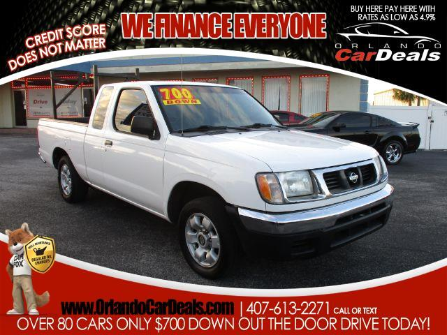 1999 Nissan Frontier SE King Cab 2WD