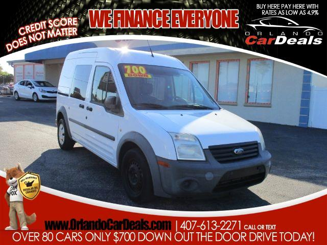 """2012 Ford Transit Connect 114.6"""" XL w/side & rear door privacy glass"""