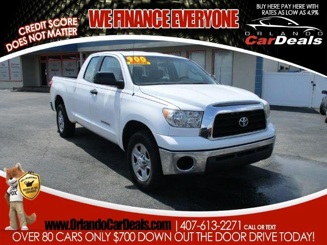 2008 Toyota Tundra 2WD Truck Dbl 4.0L V6 5-Spd AT  (Natl)