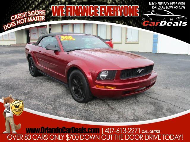 2007 Ford Mustang 2dr Conv Deluxe