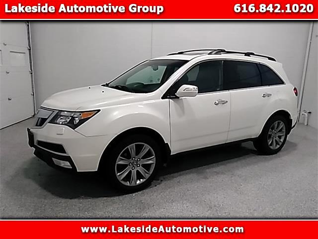 2012 Acura MDX 6-Spd AT w/Advance Package