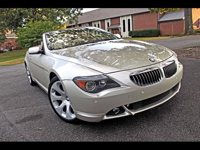 2007 BMW 6-Series 650i Convertible