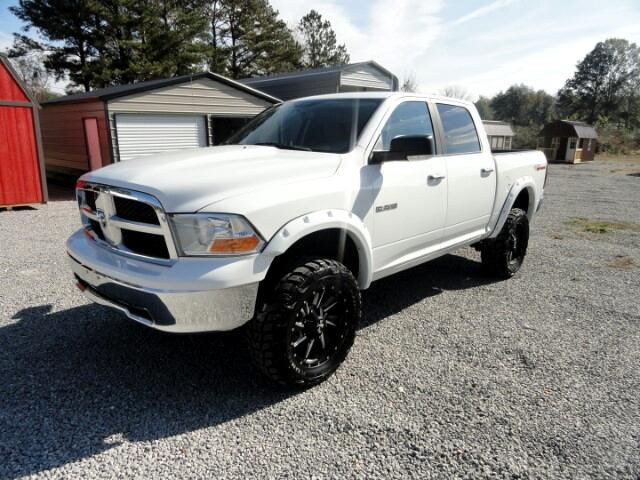 2010 Dodge Ram 1500 SLT CREW CAD 4X4 LIFT AFTERMARKET WHEELS