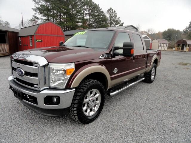 2011 Ford F-250 SD Lariat Crew Cab Short Bed 4WD