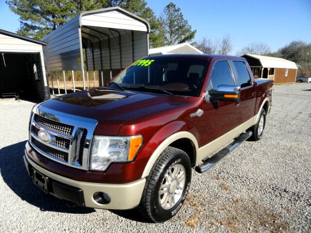 "2009 Ford F-150 4WD SuperCrew 145"" King Ranch"