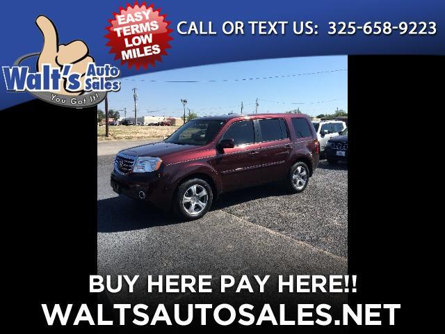 2014 Honda Pilot EX-L 2WD 5-Spd AT with DVD
