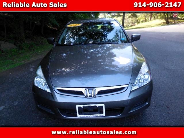 2006 Honda Accord EX V-6 Sedan AT with XM Radio