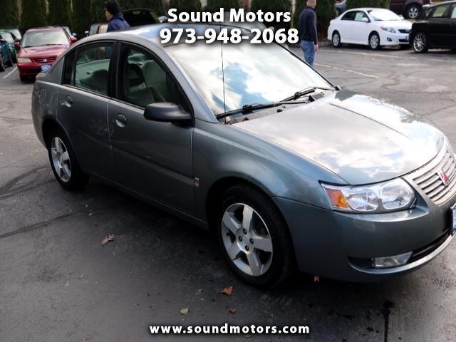 2007 Saturn ION 3 Sedan Automatic
