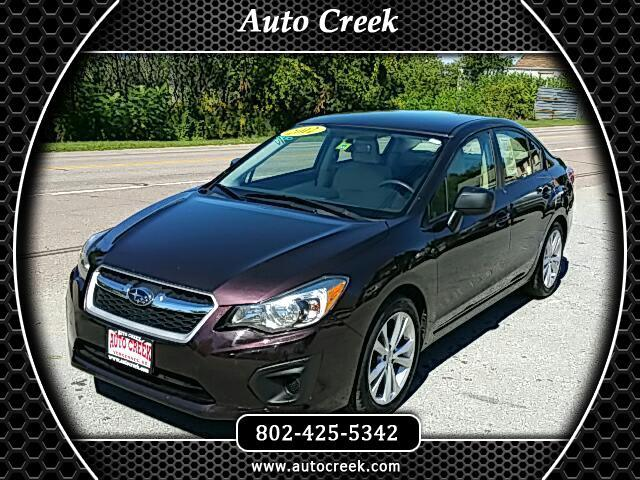 2012 Subaru Impreza Base 4-Door