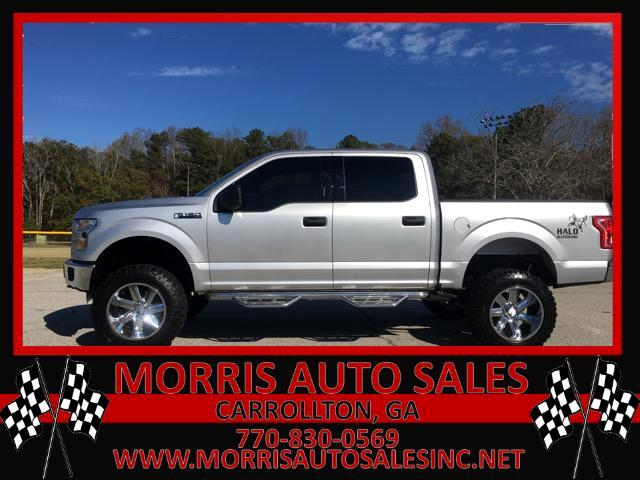 "2017 Ford F-150 4WD SuperCab 163"" XLT"