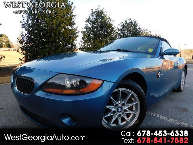 2004 BMW Z4 Vehicle Description  GUARANTEED CREDIT APPROVAL  5 SPEED MANUAL  HEATED SEATS  RARE