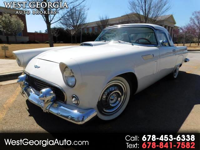 1956 Ford Thunderbird VIN P6FH247103 28k miles Exterior Color White Transmission Automatic
