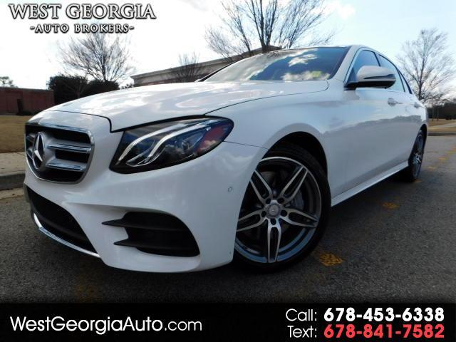 2017 Mercedes E-Class - HUGE OPTION LIST- AMG SPORT PACKAGE- PANORAMIC SUNROOF- BURMESTER S