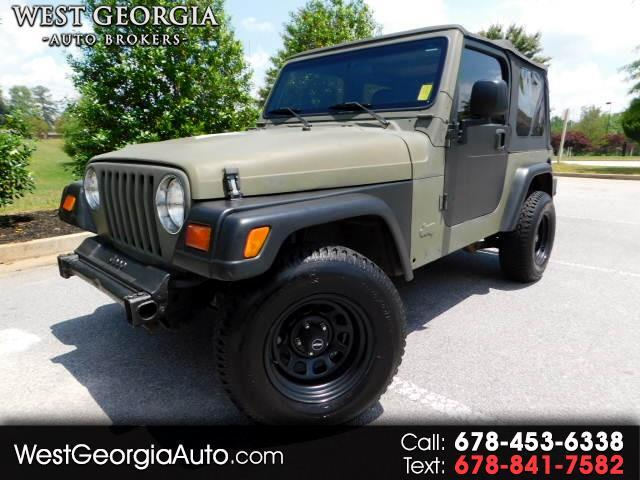 1997 Jeep Wrangler - 4 WHEEL DRIVE- 5 SPEED MANUAL- AC- PROCOMP WHEELS WITH NEW TIRES- F