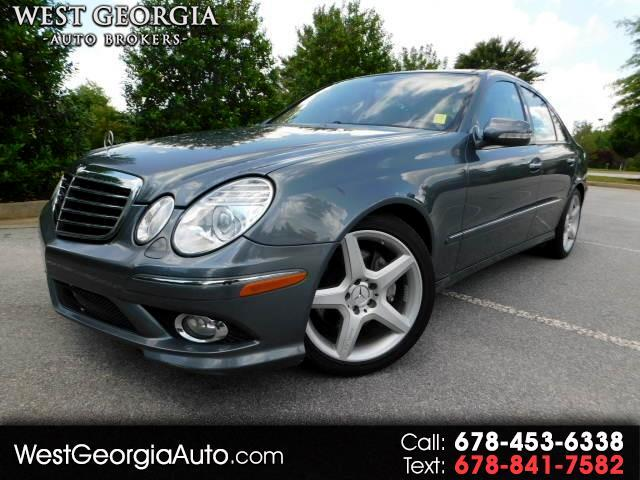 2009 Mercedes E-Class - GUARANTEED CREDIT APPROVAL- PANORAMIC SUNROOF- AMG SPORT PACKAGE- A