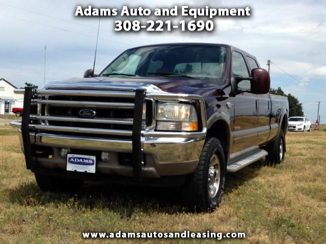 2003 Ford F-350 SD King Ranch Crew Cab Long Bed 4WD