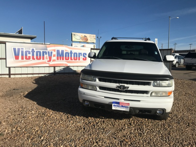 Used 2003 chevrolet suburban 1500 4wd for sale in pampa tx for Victory motors pampa tx