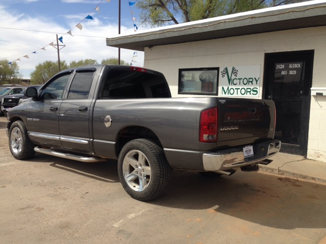 used 2004 dodge ram 1500 laramie quad cab long bed 2wd for sale in pampa tx 79065 victory motors. Black Bedroom Furniture Sets. Home Design Ideas