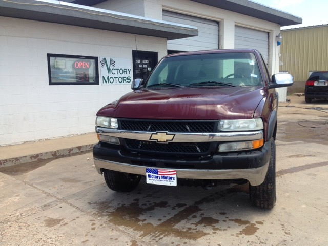Used 2002 chevrolet silverado 2500hd lt ext cab long bed for Victory motors pampa tx