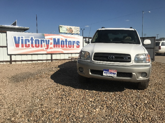 Used 2004 toyota sequoia sr5 2wd for sale in pampa tx for Victory motors pampa tx