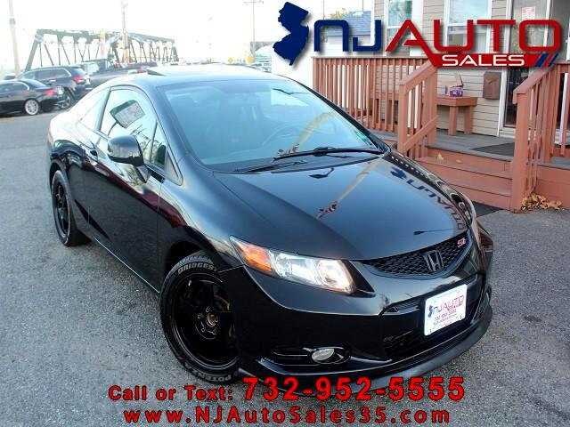 2012 Honda Civic Si Coupe 6-Speed MT with Navigation