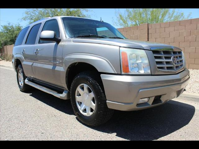 2002 Cadillac Escalade Luxury AWD
