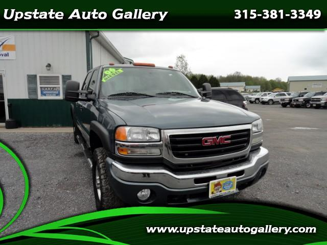 2006 GMC Sierra 2500HD SLE1 Crew Cab Long Bed 4WD