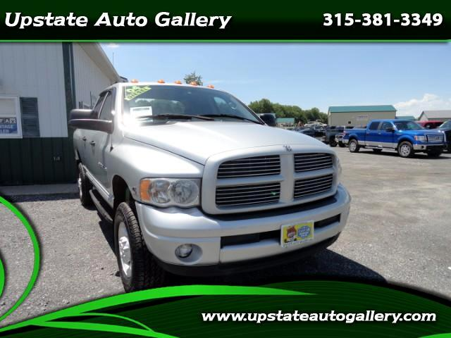 2004 Dodge Ram 3500 Laramie Quad Cab Short Bed 4WD