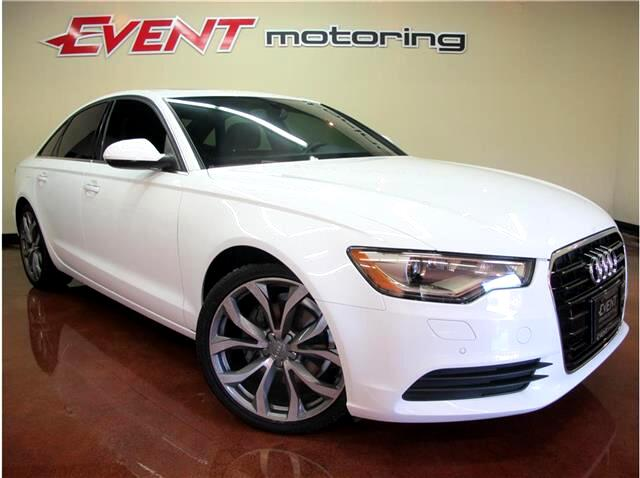 2013 Audi A6 2.0T Premium Sedan FrontTrak Multitronic