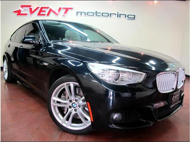 2012 BMW 5-Series Gran Turismo 550i