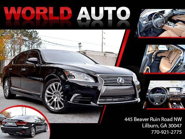2014 Lexus LS 460 L Luxury Sedan