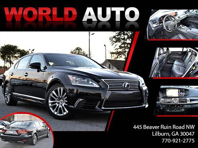 2015 Lexus LS 460 L Luxury Sedan