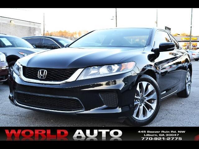 2014 Honda Accord LX-S Coupe CVT